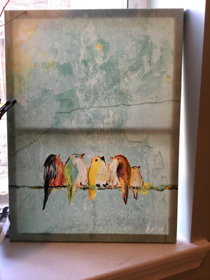 Print Canvas pier 1 Birds