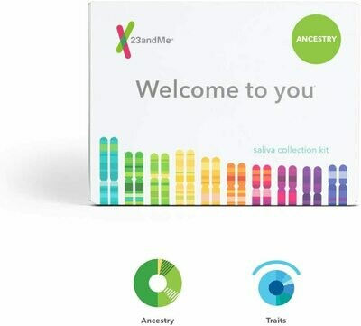 23andMe Ancestry + Traits Service: Personal Genetic DNA Test with 1500+ Geograph