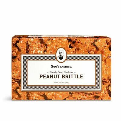 See's Peanut Brittle 1lb 8oz