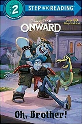 Oh, Brother! (Disney/Pixar Onward) (Step into Reading)