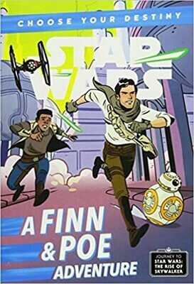 Journey to Star Wars: The Rise of Skywalker A Finn & Poe Adventure (A Choose Your Destiny Chapter Book)  by Cavan Scott (A