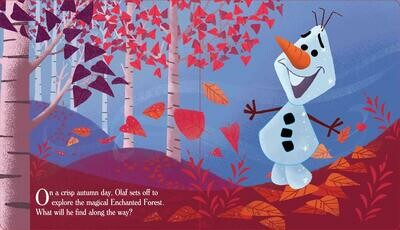 Disney Frozen 2: Touch and Feel Forest (Board book)