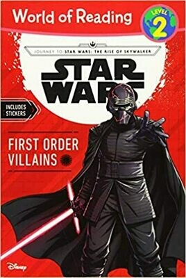 Journey to Star Wars: The Rise of Skywalker First Order Villains (Level 2 Reader) (World of Reading) by Michael Siglain