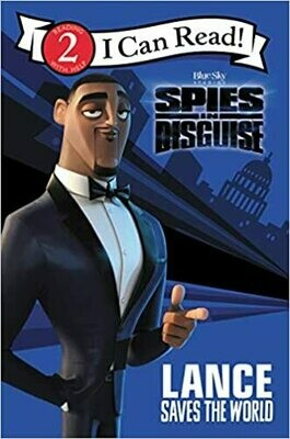 Spies in Disguise: Lance Saves the World (I Can Read Level 2) by Tomas Palacios (Paperback)