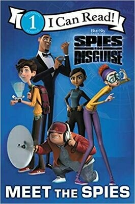 Spies in Disguise: Meet the Spies (I Can Read Level 1) by  Alexandra West