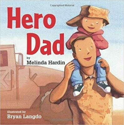 Hero Dad by Melinda Hardin (Hardcover)