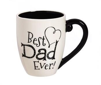 Best Dad Ever Mug w/ Box, 18 oz