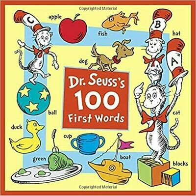 Dr. Seuss's 100 First Words (Board book)