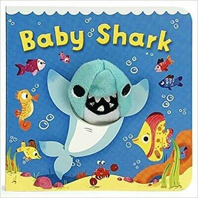 Little learners Baby Shark (Finger Puppet Board Book)