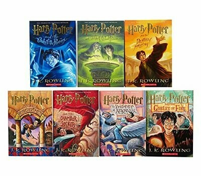 Harry Potter Paperback Box Set (Books 1-7) by J. K. Rowling (Paperback)