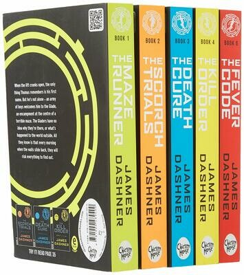 Maze Runner Box Set by James Dashner (Paperback)