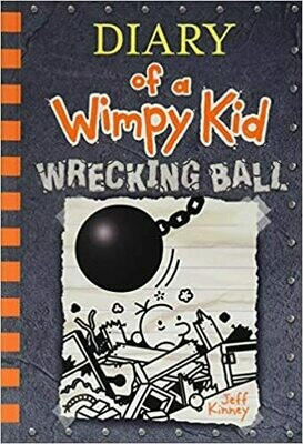 Wrecking Ball (Diary of a Wimpy Kid Book 14) by Jeff Kinney (Hardcover)