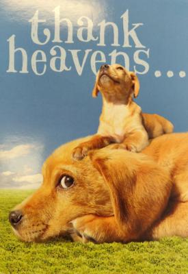Thank Heavens... Card