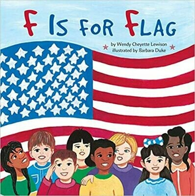 F Is for Flag by Wendy Cheyette Lewison (Paperback)