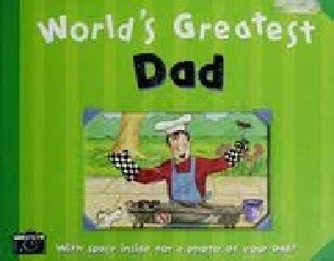 World's Greatest Dad by Kath Smith (Hardcover) USED