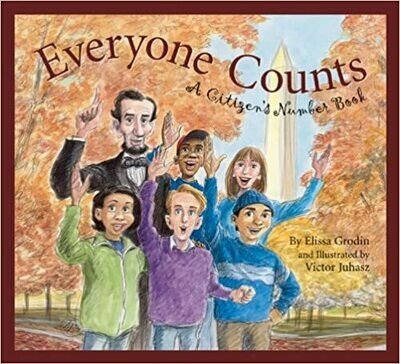 Everyone Counts: A Citizens' Number Book by Elissa D. Grodin (Hardcover) USED