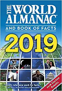 The World Almanac and Book of Facts 2019 by Sarah Janssen (Editor) (Paperback)