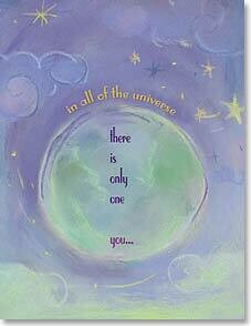 In All the Universe Birthday Card