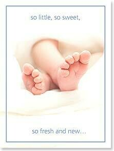 So Little, So Sweet Baby Congratulations Card