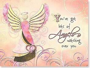 Sending You Hugs Encouragement & Support Card