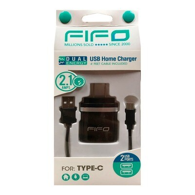 FIFO USB Home Charger for Type-C