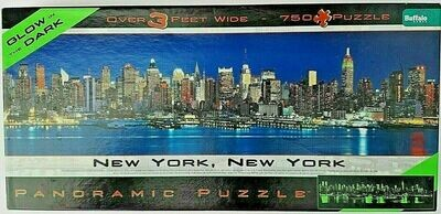 New York, New York Puzzle Glow in the Dark (750 Pcs) BUFFALO GAMES