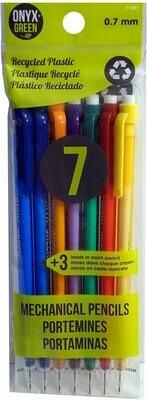 7 Pk Mechanical Pencils (0.7mm)