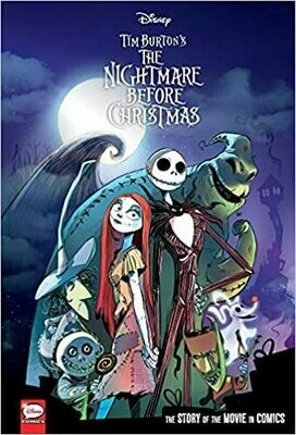 Disney The Nightmare Before Christmas: The Story of the Movie in Comics by Alessandro Ferrari (Paperback)