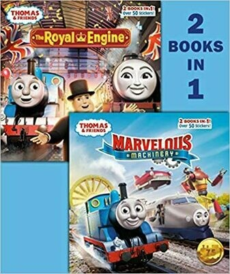 Marvelous Machinery/The Royal Engine (Thomas & Friends) by Christy Webster (Paperback)