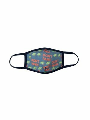 The Hitchhikers Guide to the Galaxy Face Mask Unisex Small
