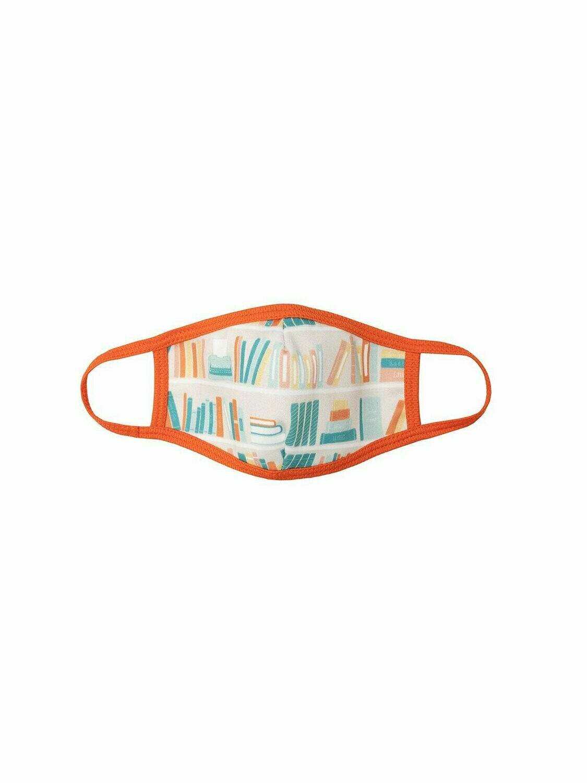 Bookshelf Face Mask Unisex Small