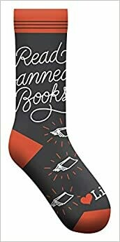 Read Banned Books Socks (Gs)