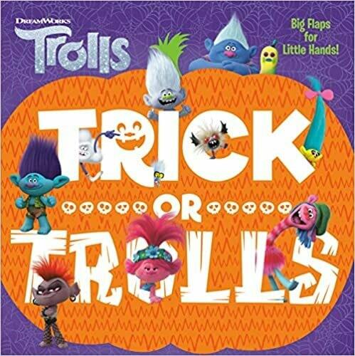 Trick or Trolls (DreamWorks Trolls) by Mary Man-Kong (Board Book)