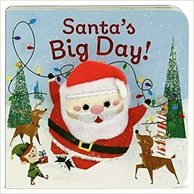 Santa's Big Day (Finger Puppet Board Book) by Holly Berry-byrd