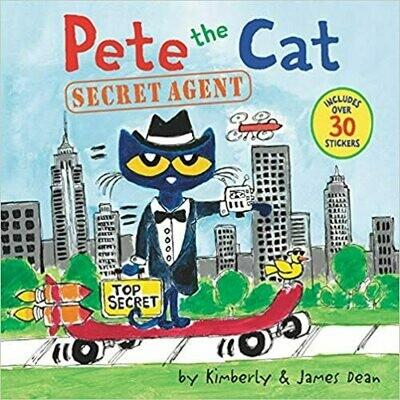 Pete the Cat: Secret Agent by James Dean (Paperback)