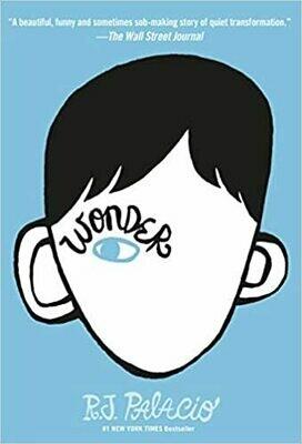 Wonder by R. J. Palacio (Hardcover)