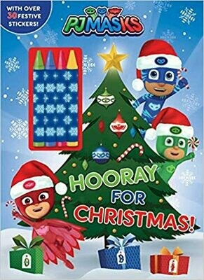 PJ Masks: Hooray for Christmas! Paperback