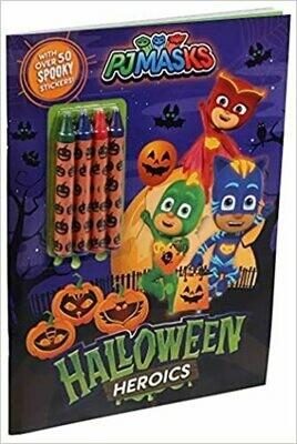 PJ Masks: Halloween Heroics (Paperback)