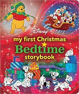 My First Disney Christmas Bedtime Storybook (My First Bedtime Storybook) Hardcover