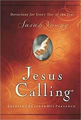 Jesus Calling: Enjoying Peace in His Presence (with Scripture References) by Sarah Young (Hardcover)