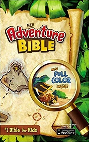 NIV, Adventure Bible, Hardcover, Full Color Hardcover – Illustrated