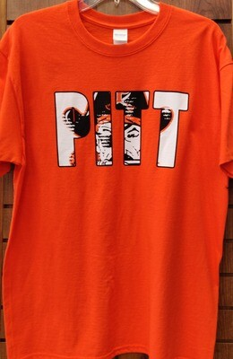 Pittsburg Pirates T-Shirt (Short-Sleeves) Orange