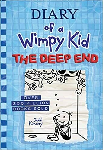 The Deep End ( Diary of a Wimpy Kid #15 ) by Jeff Kinney (Hardcover)