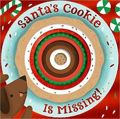 Santa's Cookie Is Missing! by Anne Passchier  (Board Book)