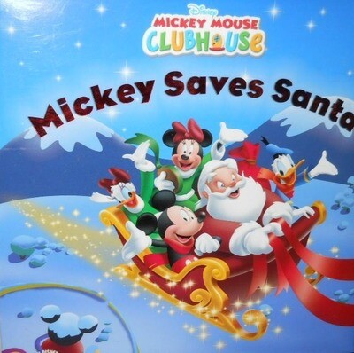 Mickey Saves Santa (Mickey Mouse Clubhouse) Paperback