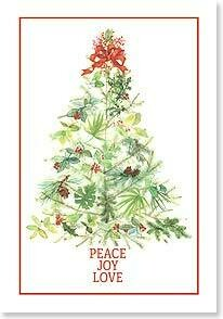 Christmas Card: Peace to you and to those you love...and joy to the world.