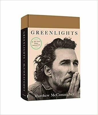 Greenlights Hardcover by Matthew McConaughey