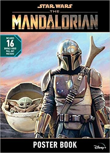 Star Wars The Mandalorian Poster Book Paperback