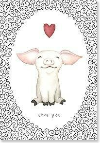 Valentine's Day Card: You make me smile all over!