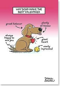Valentine's Day Card: Have a doggone Happy Valentine's Day!